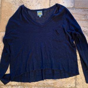 C&C California Crop Sweater